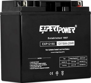 ExpertPower EXP12180 Lawn Mower Battery