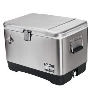 Igloo Products Corporation 00044669 Stainless Steel Cooler