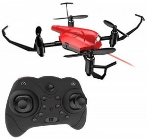 Mini drone, drone de combat quadricoptère RC DEERC HS177