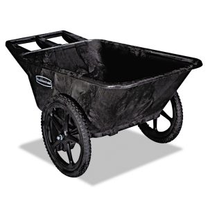 Rubbermaid Commercial Products FG564200BLA Plastic Yard Cart