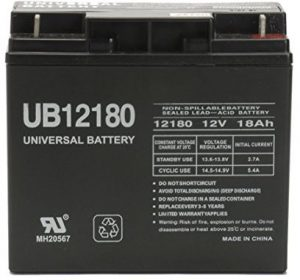 Universal Power 90508011 Electric Lawn Mower Battery