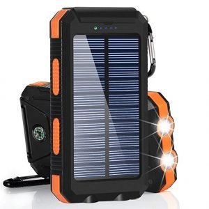 BESWILL 10000mAh Solar Phone Chargers