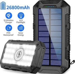 GRDE Wireless Solar Charger