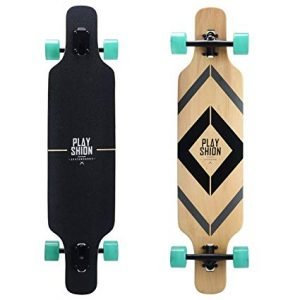 Playshion 39 Inch Longboard Skateboard