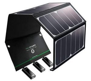 RAVPower Solar Power Phone Chargers
