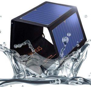 SOKOO 22W 5V 2-Port USB Portable Foldable Solar Charger