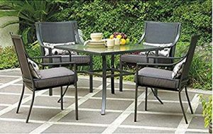Gramercy Home 5 Piece Patio Dining Table Set.