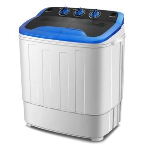 KUPPET Washing Machine, Portable Mini Compact Twin Tub Washer