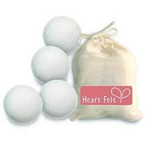 Heart Felt Wool Dryer Balls