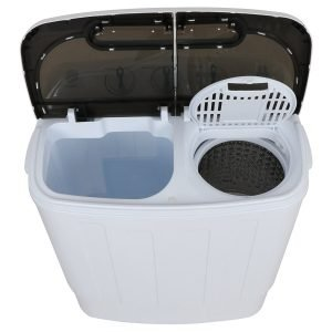ZENY Portable Compact Mini Twin Tub Washing Machine