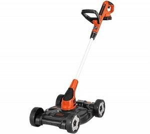 BLACK DECKER 3-in-1 Electric Cordless Lawn Mower