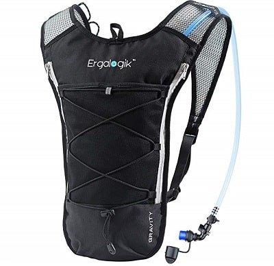 ErgaLogik Gravity 70 UltraLight 2L Hydration Pack Running Vest