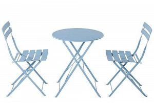 Grand Patio Premium Steel Patio Bistro Furniture Dining Set