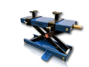 LiftMaster 1100 LB Motorcycle Center Scissor Lift Jack