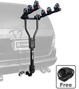Tyger TG-RK3B101S Hitch Mount Bike Racks