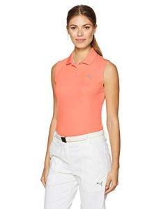 PUMA Golf 2017 Women's Pounce Sleeveless Polo