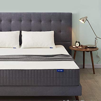King Mattress, Sweetnight 10 Inch Gel Memory Foam Mattress