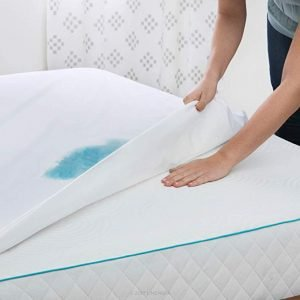 Linenspa Premium Smooth Fabric Mattress Protector - Waterproof
