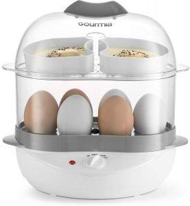 Gourmia GEC275 2 Layer Electric Egg Cooker