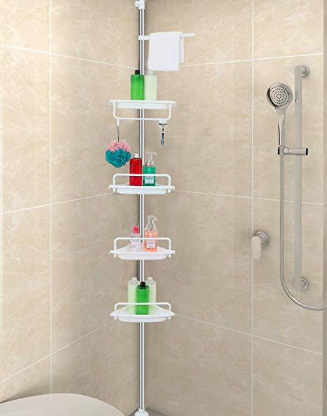 ALLZONE Constant Tension Corner Shower Caddy