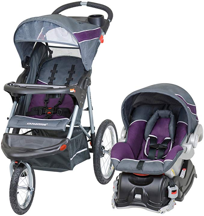 Baby Trend Expedition Jogger Travel System Infant Car Seat