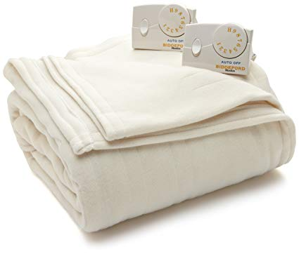 Biddeford Blankets Comfort Knit Electric Blanket