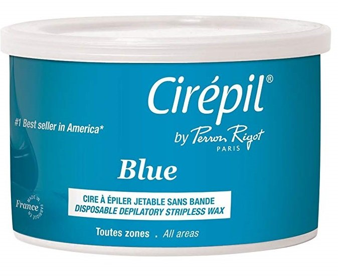 Cirepil Blue Wax, 14.11 Ounce Tin Best home Waxing kits