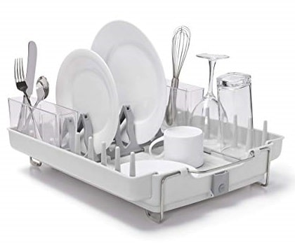 OXO Good Grips Convertible Stainless Steel Dish Rack