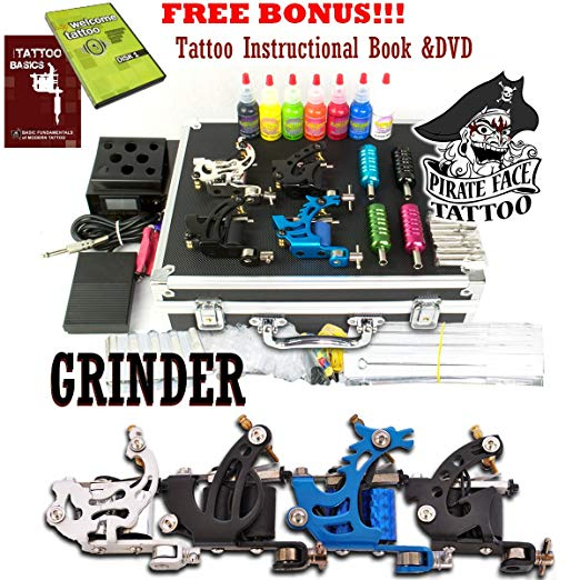 Pirate Face Tattoo GRINDER Tattoo Kit by Pirate Face Tattoo