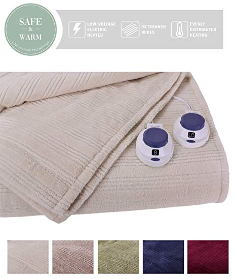 Ultra Soft Microfiber Electric Blanket- King size