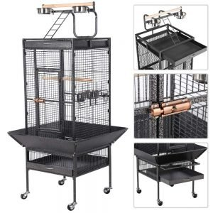 Yaheetech 62'' Wrought Iron Select Large Bird Cages