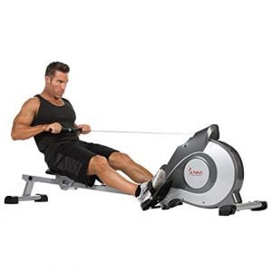 Row Machine Exercise to lose stomach fat