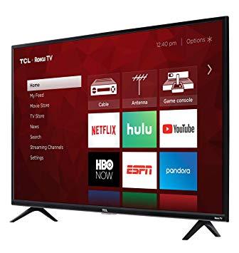 TCL 43S425 43 Inch 4K Smart Roku LED TV