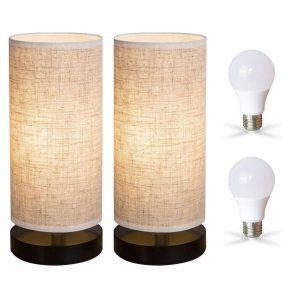 ZEEFO Bedside Table Lamp