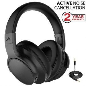 Avantree [Upgraded] Active Noise Cancelling Wireless Headphones