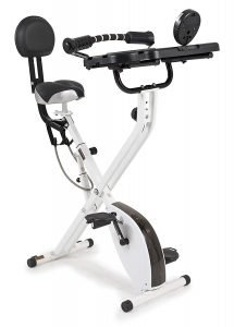 FitDesk FDX 3.0 Desk Exercise Bike and Office Workstation with Massage Bar