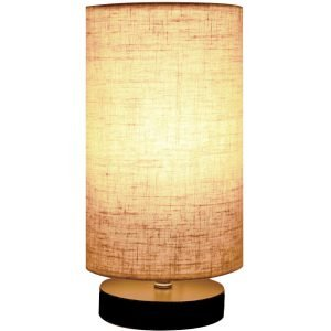 Minerva Wood Table Lamp