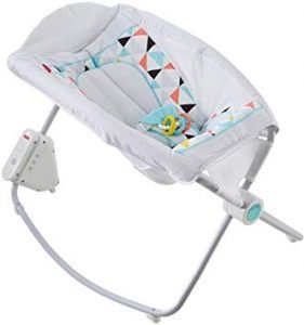 Fisher-Price Auto Multicolor Rock And Play Sleeper