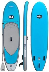 ISLE Airtech Inflatable All Around Stand Up Paddle Board