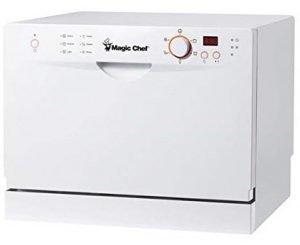 Magic Chef MCSCD6W3 Portable Countertop Dishwashers