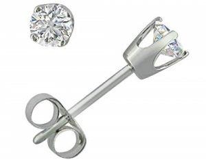 Amanda Rose CollectionRound Diamond Stud Earrings