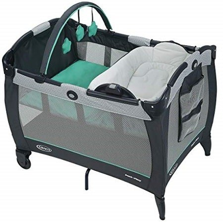 Graco Pack and Play Reversible Napper and Changer Playard, Basin