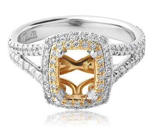 Platinum and Rose Gold - The Perfect Combination Engagement Ring Trends