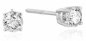 VIR JEWELS Certified Diamond Stud Earrings