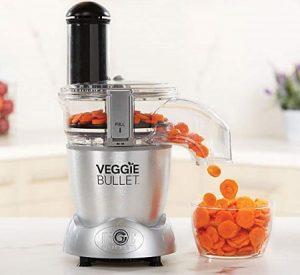 Veggie Bullet Electric Spiralizer and Food Processor.