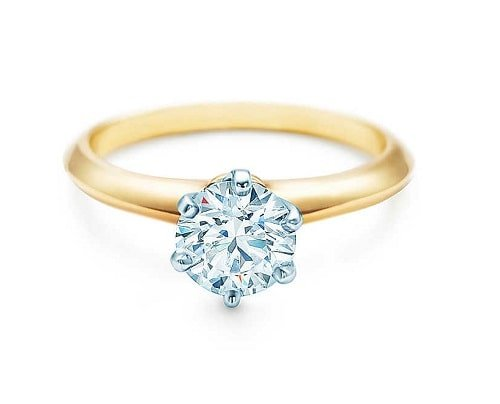 Yellow Gold Band Engagement Rings Trends