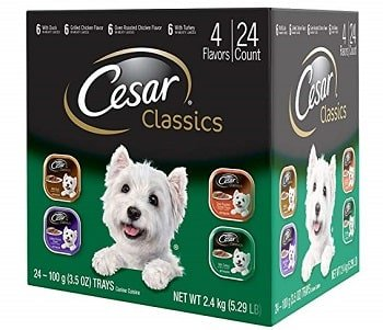 Cesar Gourmet Wet Dog Food Variety Packs
