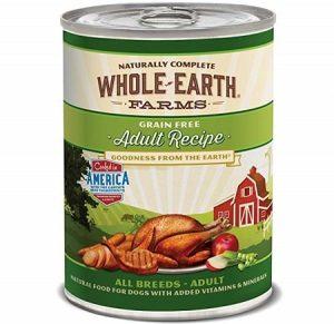 Merrick Whole Earth Farms Grain Canned Dog Food
