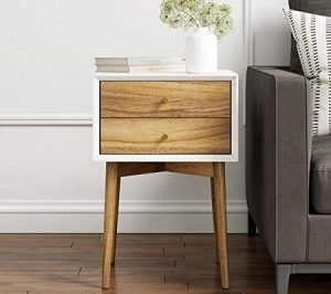Nathan James 32702 Harper Mid-Century Side Table