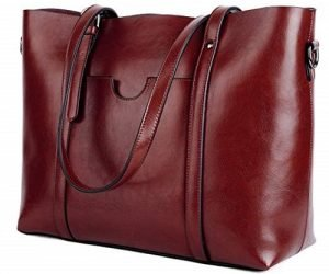 YALUXE Women's Vintage Style Soft Leather